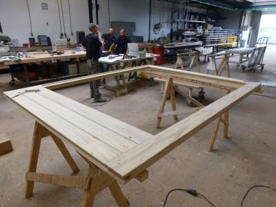 Nieuwe kozijnen van duurzaam Accoya-hout